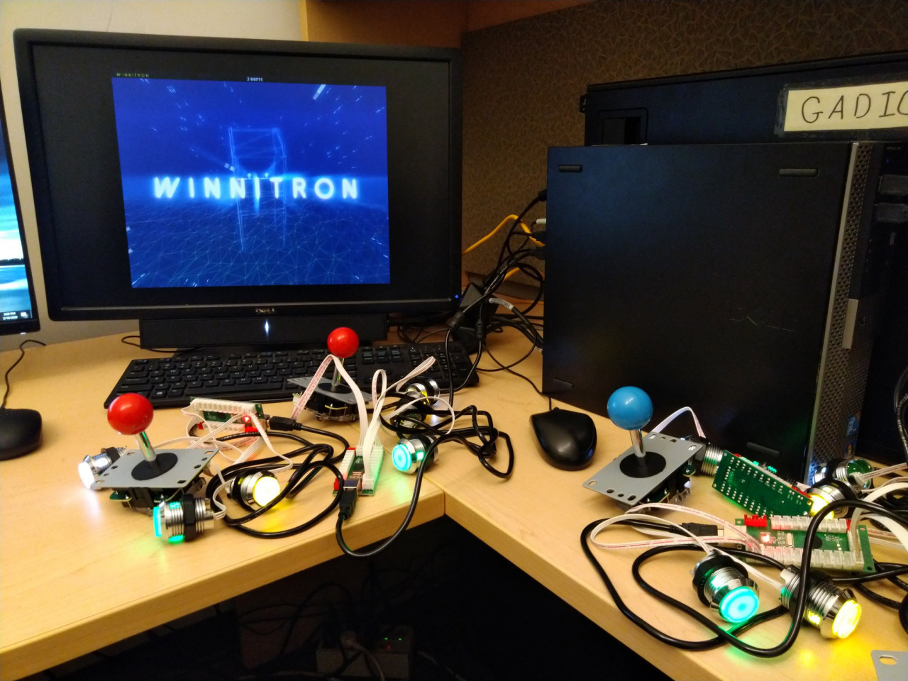 GMU Game Winnitron (Patriotron)