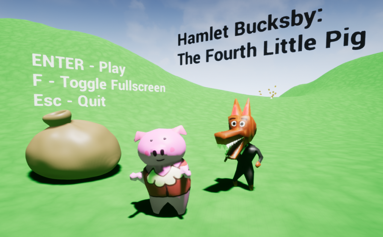 Hamlet Bucksby: The Fourth Little Pig