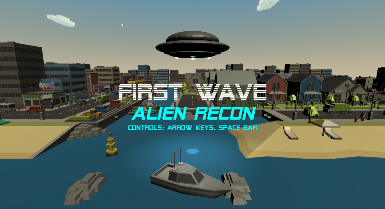 First Wave: Alien Recon